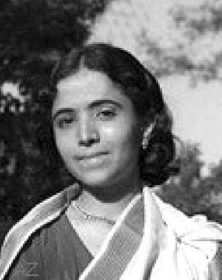 Mani Irani ( Meher Baba's sister )
