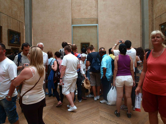Reality view of the Mona Lisa