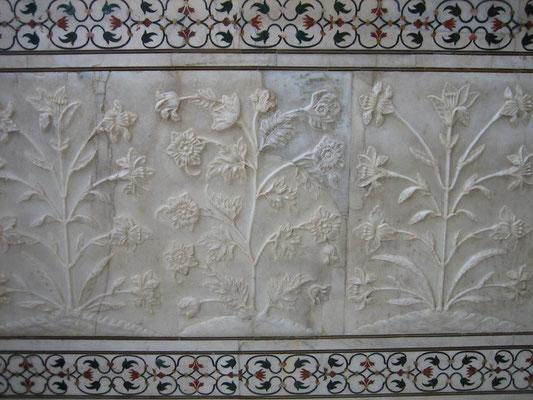 Taj Mahal - detail