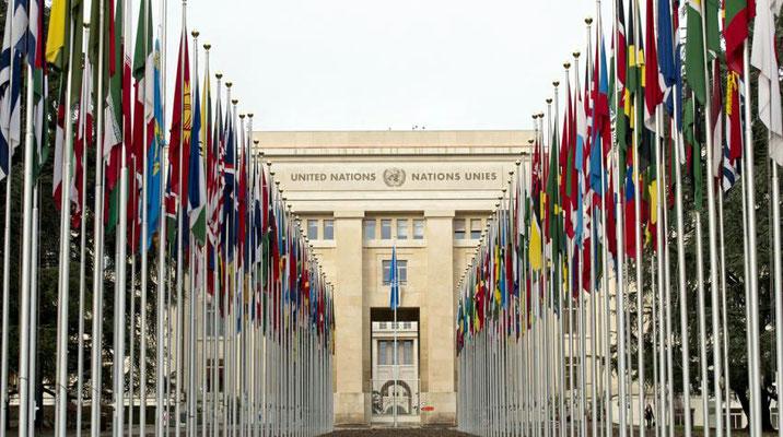 United Nations - Geneva entrance.