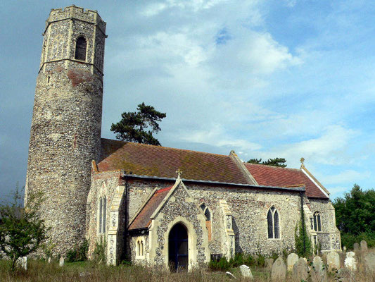St. Andrew's Church, Mutford, Suffolk, England