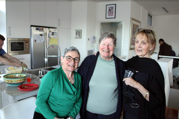 June 2014 - Melbourne, Australia. L-R ; Margaret Harrison, Cynthia Adams & Eulleen Darcy. Photo taken by Anthony Zois