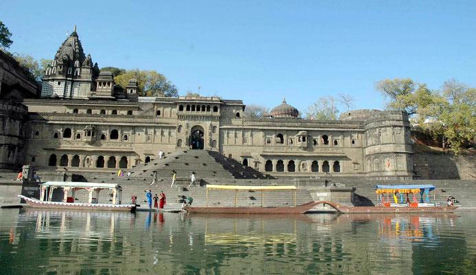 Narmada River, Maheshwar, Madhya Pradesh, India
