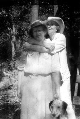 Elizabeth Patterson ( left ) & Norina Matchabelli