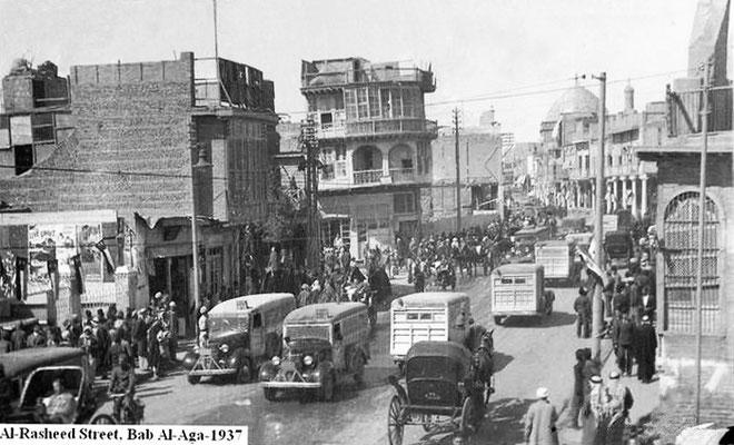 Baghdad street, 1937