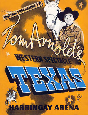 Tom Arnold was the promoter of the shows.