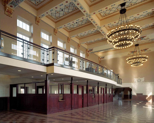 Topeka Union Railway Station, Kansas - interior