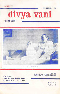 September  1972 - Front cover