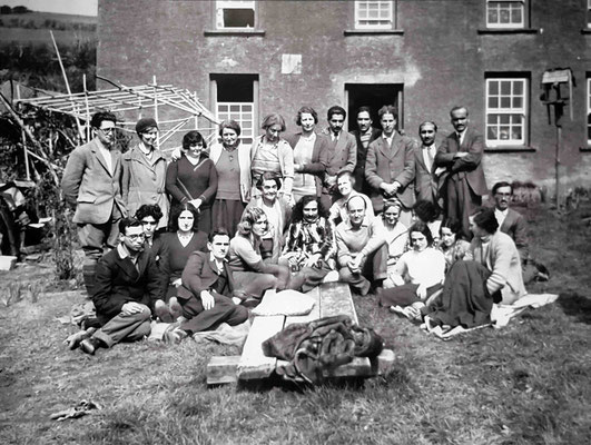 April 1932 - East Challacombe, England