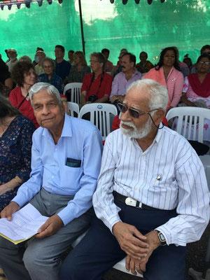 Shridhar & Jal Dastur during the Inauguration