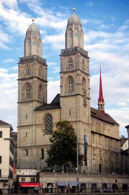 Zurich's Grossmunster Church
