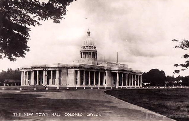 Town Hall-Colombo-Ceylon-1940s