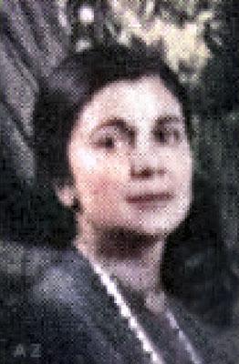 Anita de Caro-Vieillard.  Image colourized by Anthony Zois.
