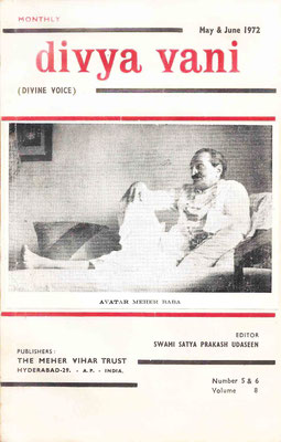 May & June  1972 - Front cover