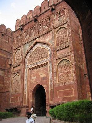Agra Fort - internal gate