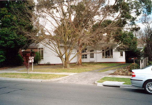 John Burston's home in which his sister Joan Le Page and her family lived at the time.