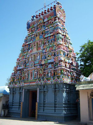 Ishwara Shiva temples of Pondichery