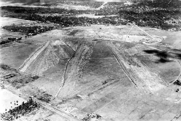 Aerial of Kemayoran Airport, Jakarta, Indonesia