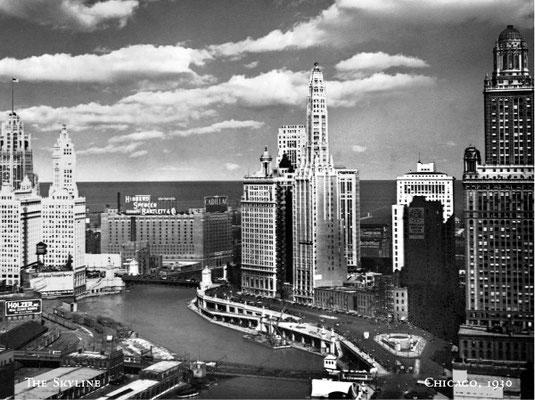 The Skyline - Chicago 1930