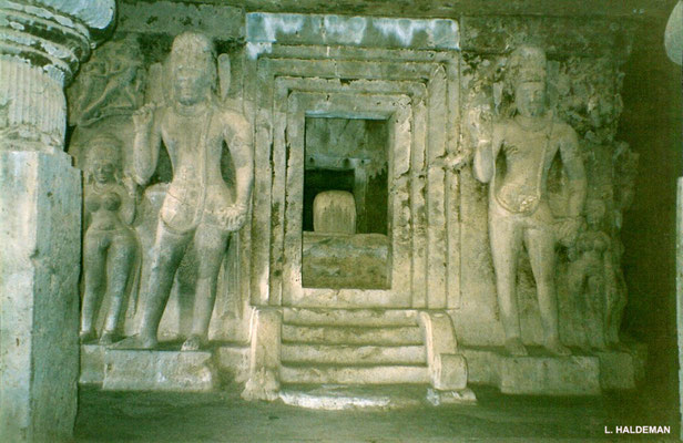 Jain Caves : photo by Lyn Haldeman