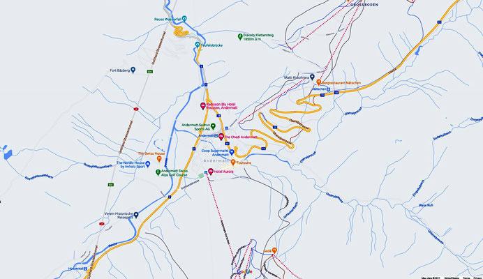Andermatt Map 1