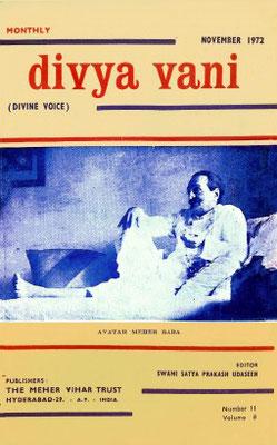 November  1972 - Front cover - alternative