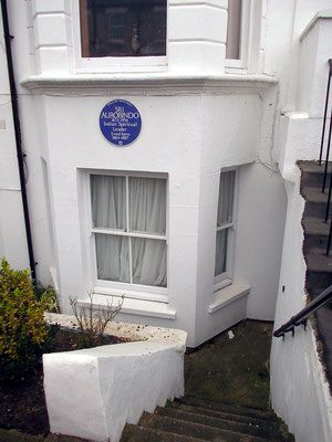This is the apartment Aurobindo lived in London