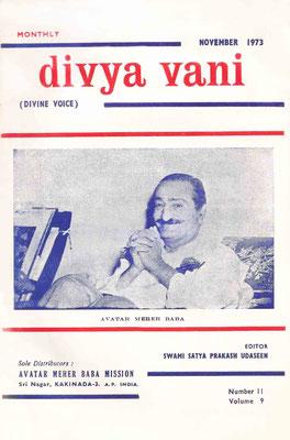 November  1973 - Front cover