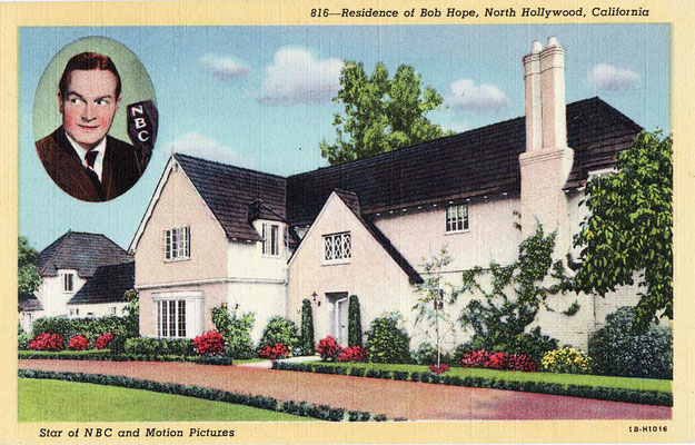 Bon Hope's home in Beverley Hills