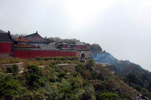Mt. Tai - Temple complex at the top of mount