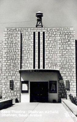 DHAHRAN Airport, Base Theatre 1960