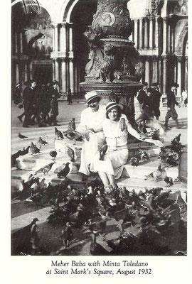 LM ; p1700 - Meher Baba and Minta Toledano