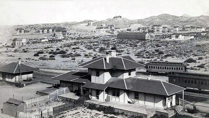 Southern Pacific Depot in El Paso