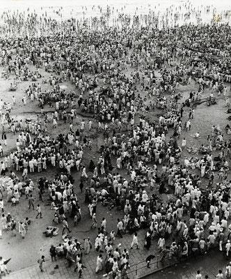 Chowpatty Beach 1940s