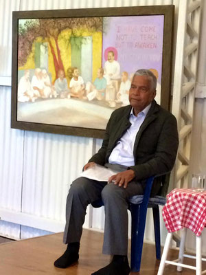 2016 Anniversary ; Shridhar Kelkar giving a talk