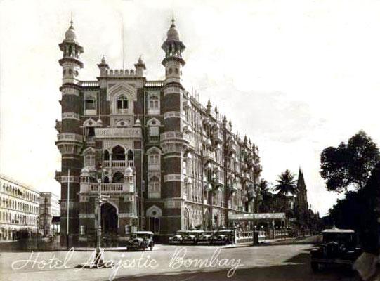 Majestic Hotel, Bombay, India