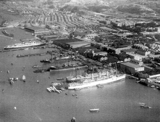 1930s Kowloon wharfs