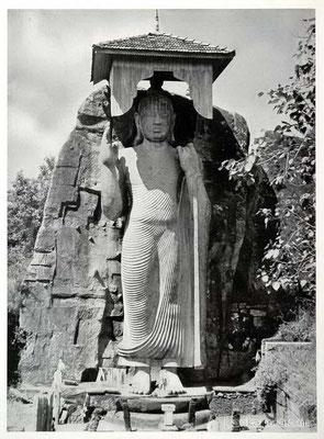 Aukana Buddha -Sri Lanka 1938