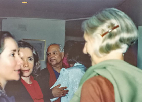 The Ann-marie & Liz Gaskin ( left ) & Bhau Kalchuri.