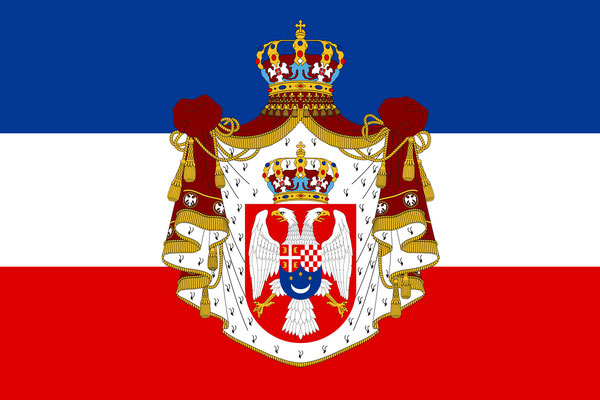 Old Kingdom of Yugoslavia Flag