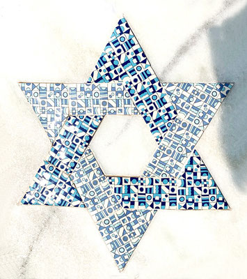 The Star of David represents the Jewish faith