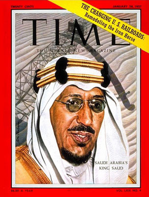 Time magazine cover - January 1957