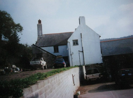 The rear of the two houses - 2010. Photo taken by Eric Tepperman.