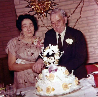 Larry's maternal grandparents Larry & Theresa DeBlasio