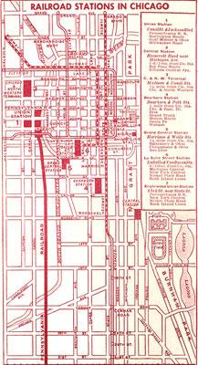1932 : Train trip Chicago-Kansas City - meherbabatravels