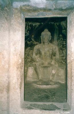 Buddhist Caves ; photo by Lyn Haldeman