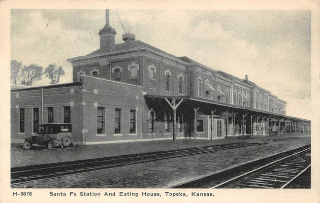Topeka Union Railway Station, Kansas