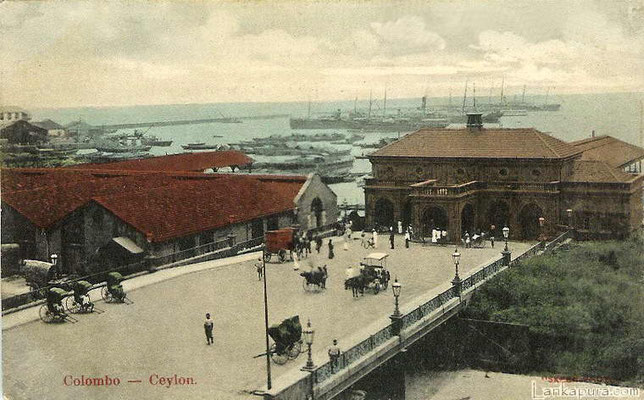 Colombo Harbour -Ceylon 1908