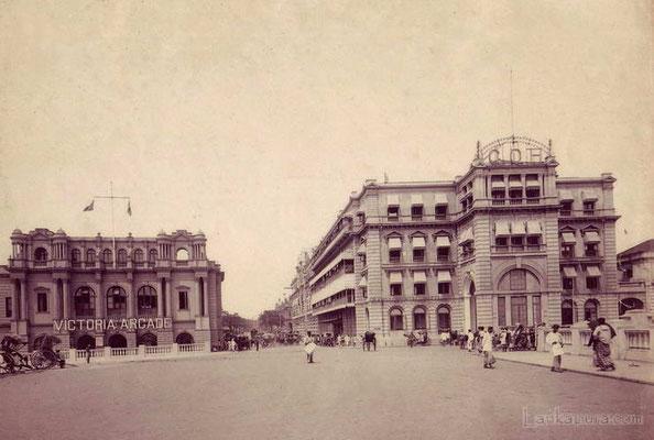 Ceylon -street scene-1900