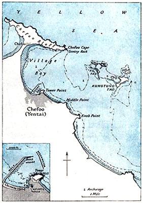 Chefoo map